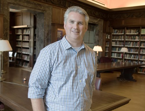 Rockefeller welcomes new librarian, Matthew V. Covey