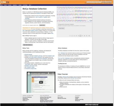BioCyc Database