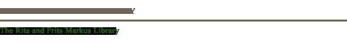 Markus Library News Logo