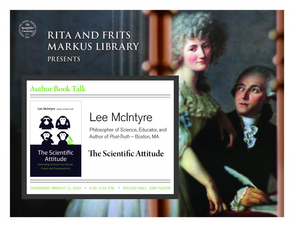Book talk Lee Mcintyre