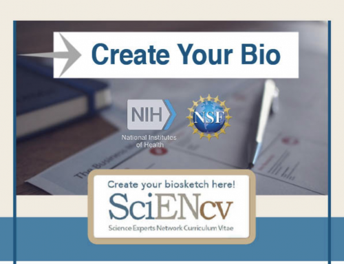 NIH Biosketch and SciENcv LibGuide