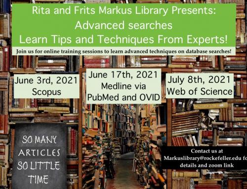 New Classes: Advanced Searches Mini Series