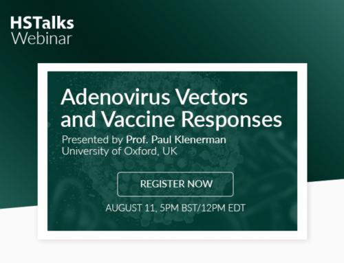 Live Webinar Provided by HS Talks: Adenovirus Vectors and Vaccine Responses